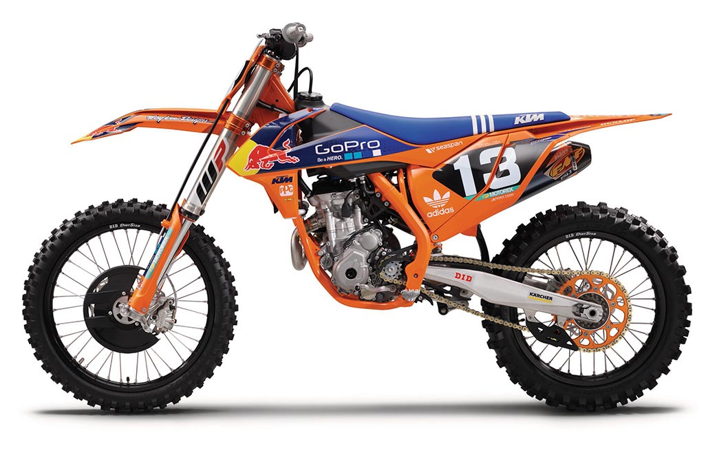 KTM 250 SX-F 2016 Factory Edition