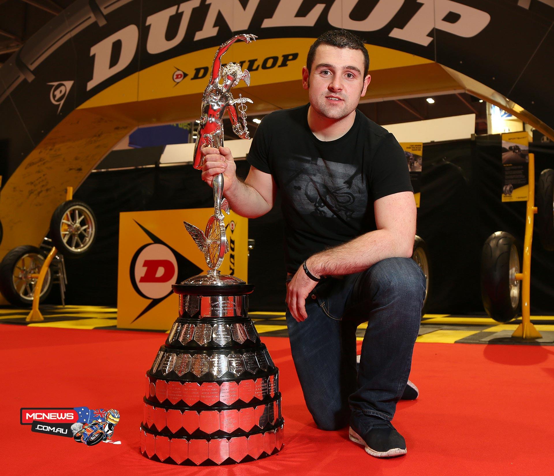 Michael Dunlop on Hawk BMW for IOM TT
