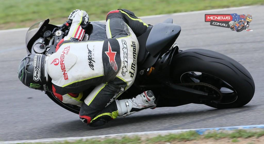 Dakota Mamola made his debut on the HB Racing/Meen Motorsports Yamaha R6 at Thunderhill.