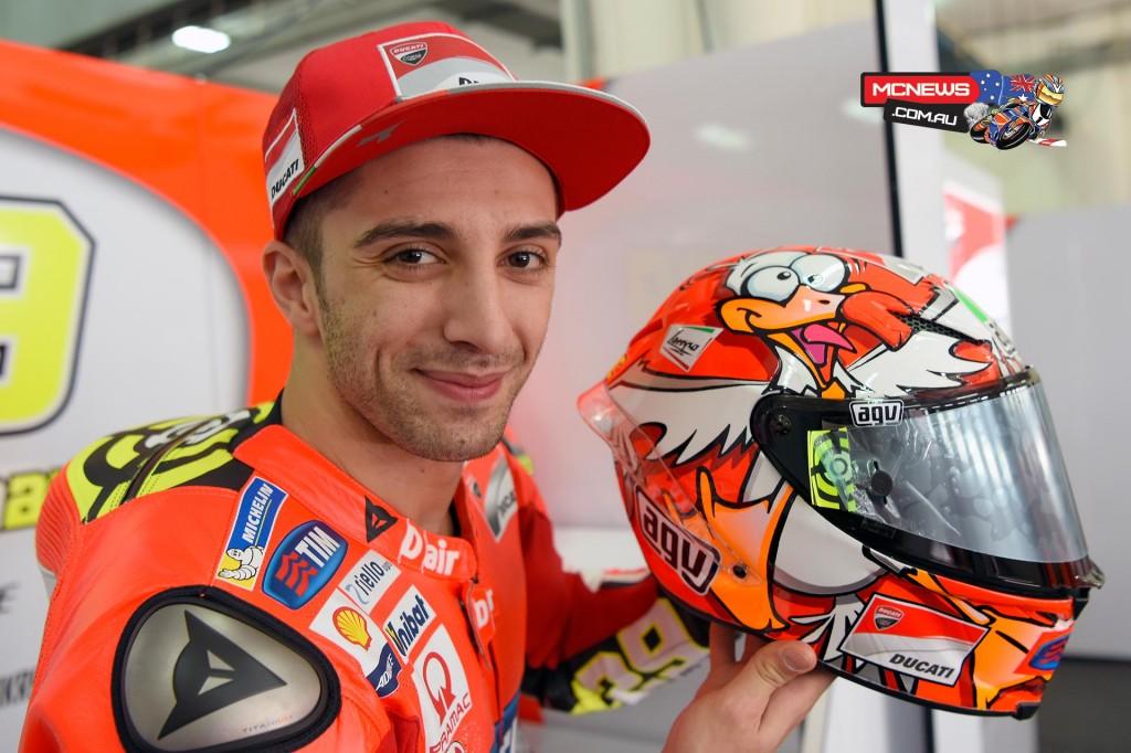 Andrea Iannone joins Team Suzuki ECSTAR for the 2017 MotoGP season.