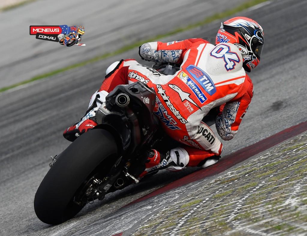 MotoGP Sepang Test 2016 - Andrea Dovizioso