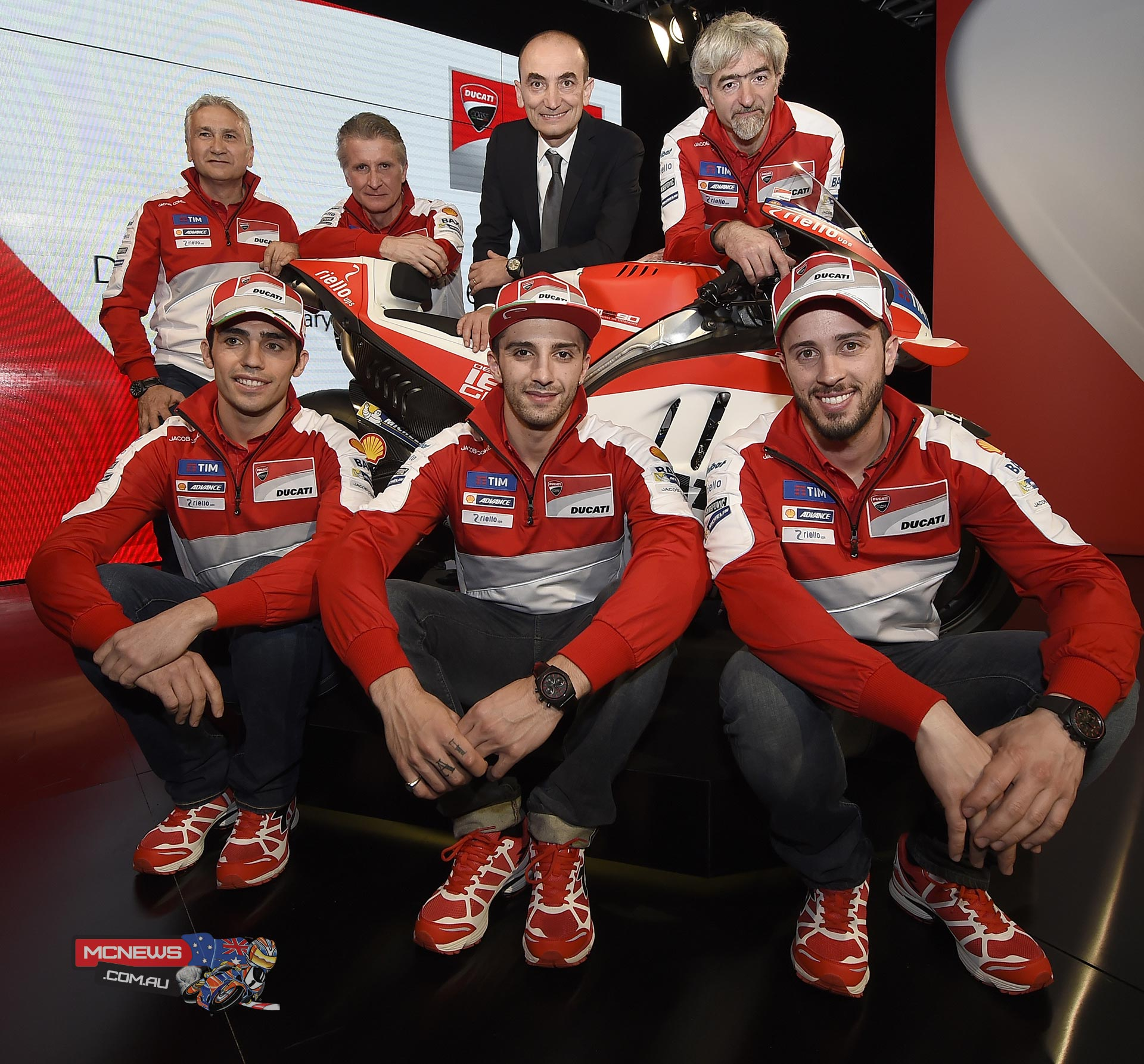 2016 Ducati Motogp Team Launch Mcnewscomau