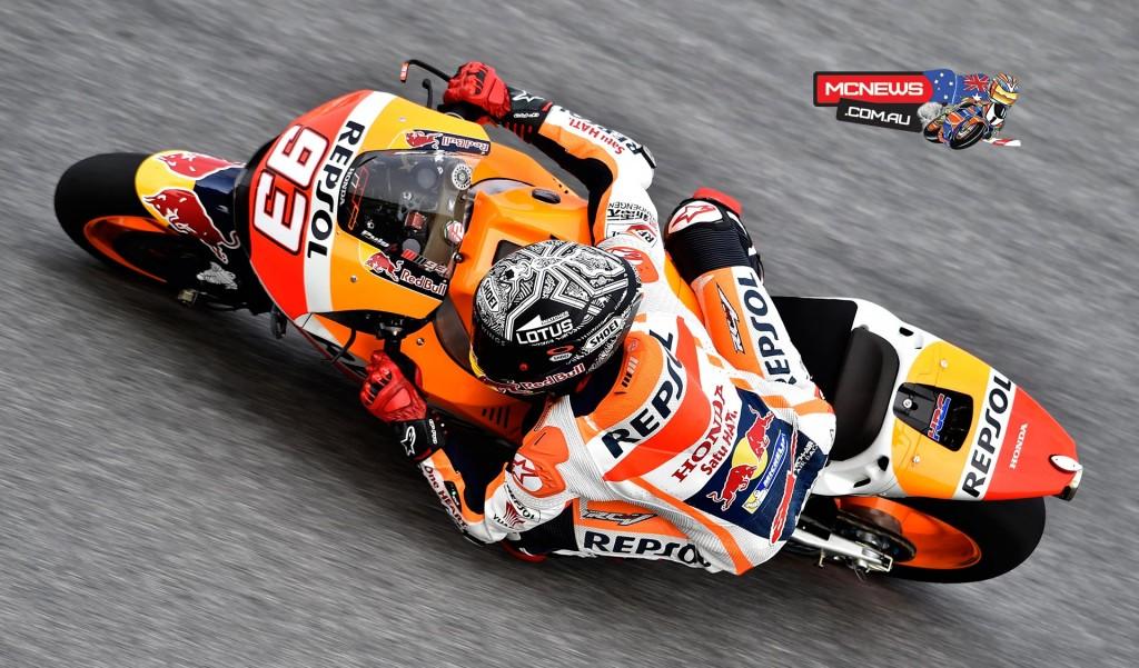 MotoGP Sepang Test 2016 - Marc Marquez