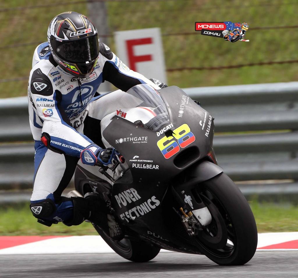 MotoGP Sepang Test 2016 - Yonny Hernandez