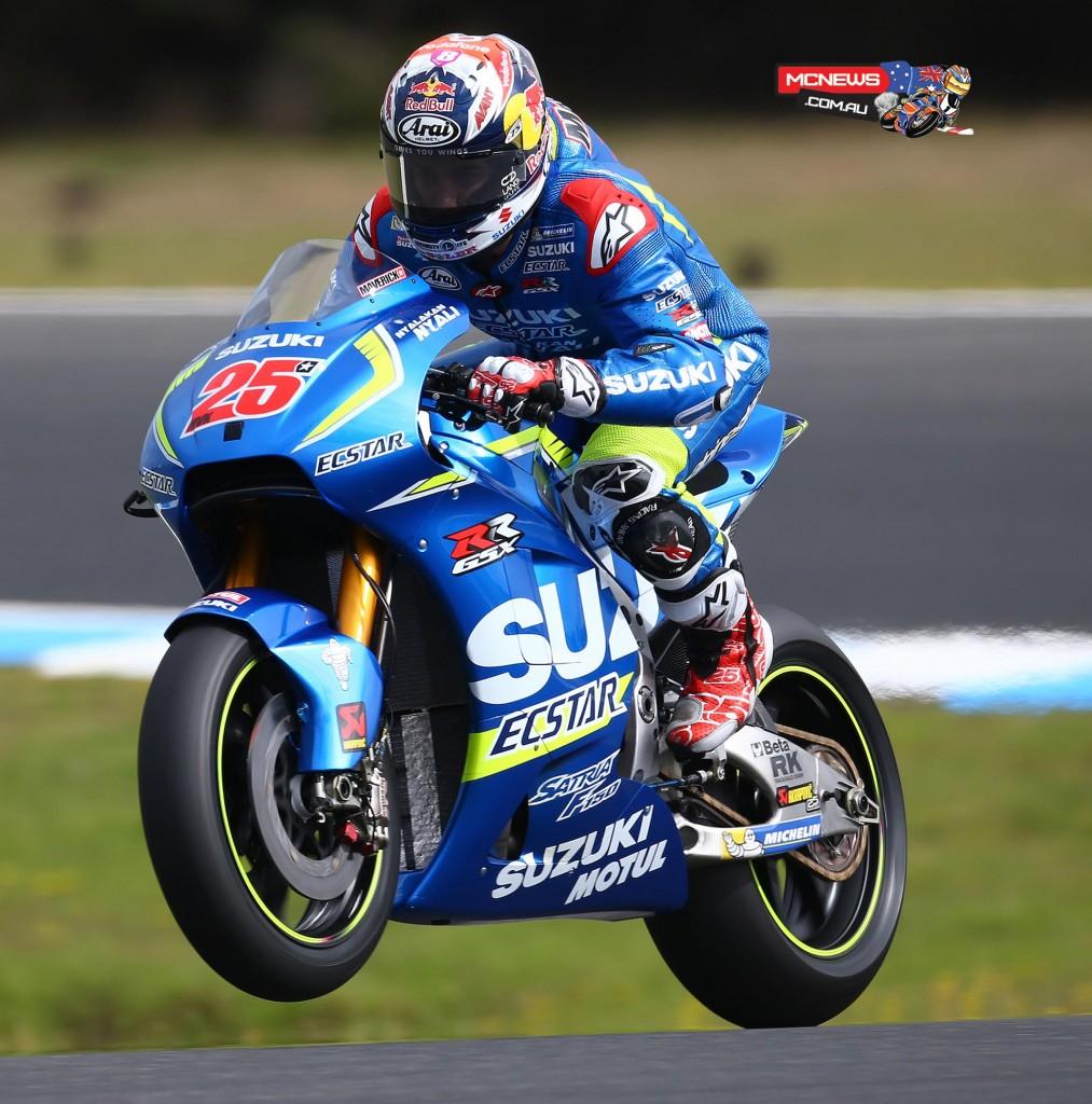 Maverick Vinales - Phillip Island MotoGP Test 2016 - Image by AJRN