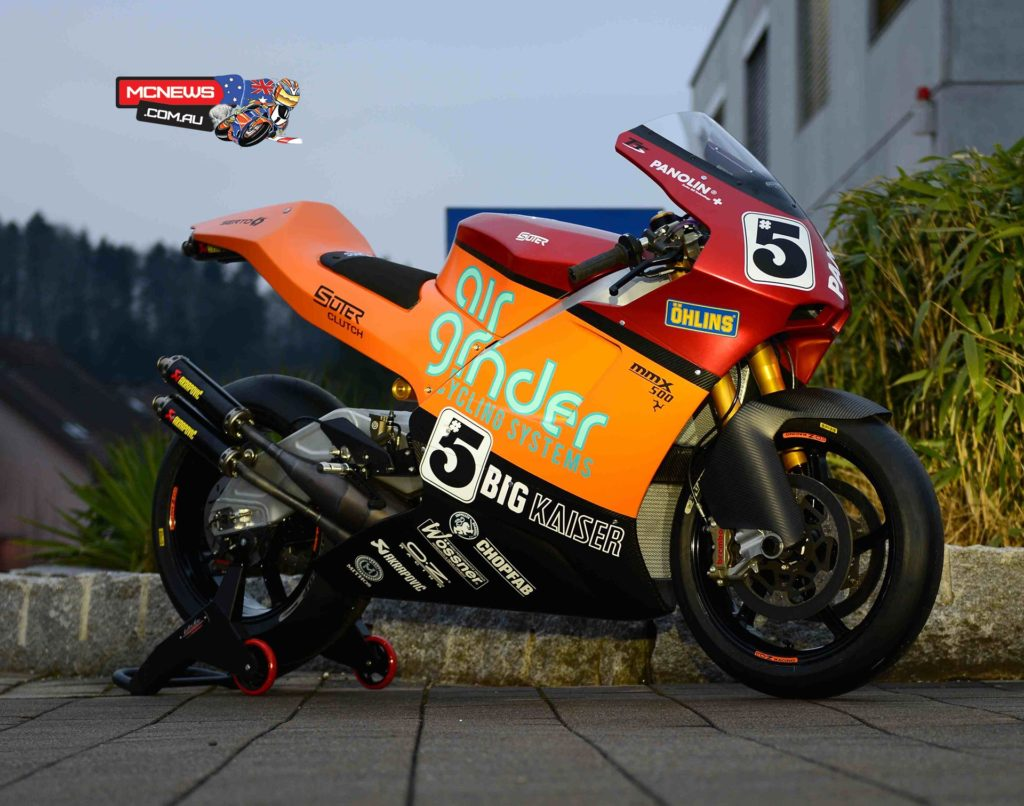 10 time TT winner Ian Lougher will ride the Suter MMX 500 two-stoke at TT 2016