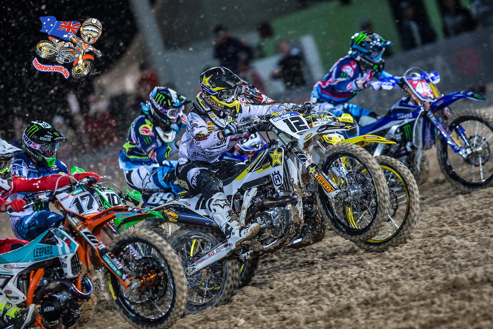 World MX 2016 - Round One - Qatar - Max Nagl