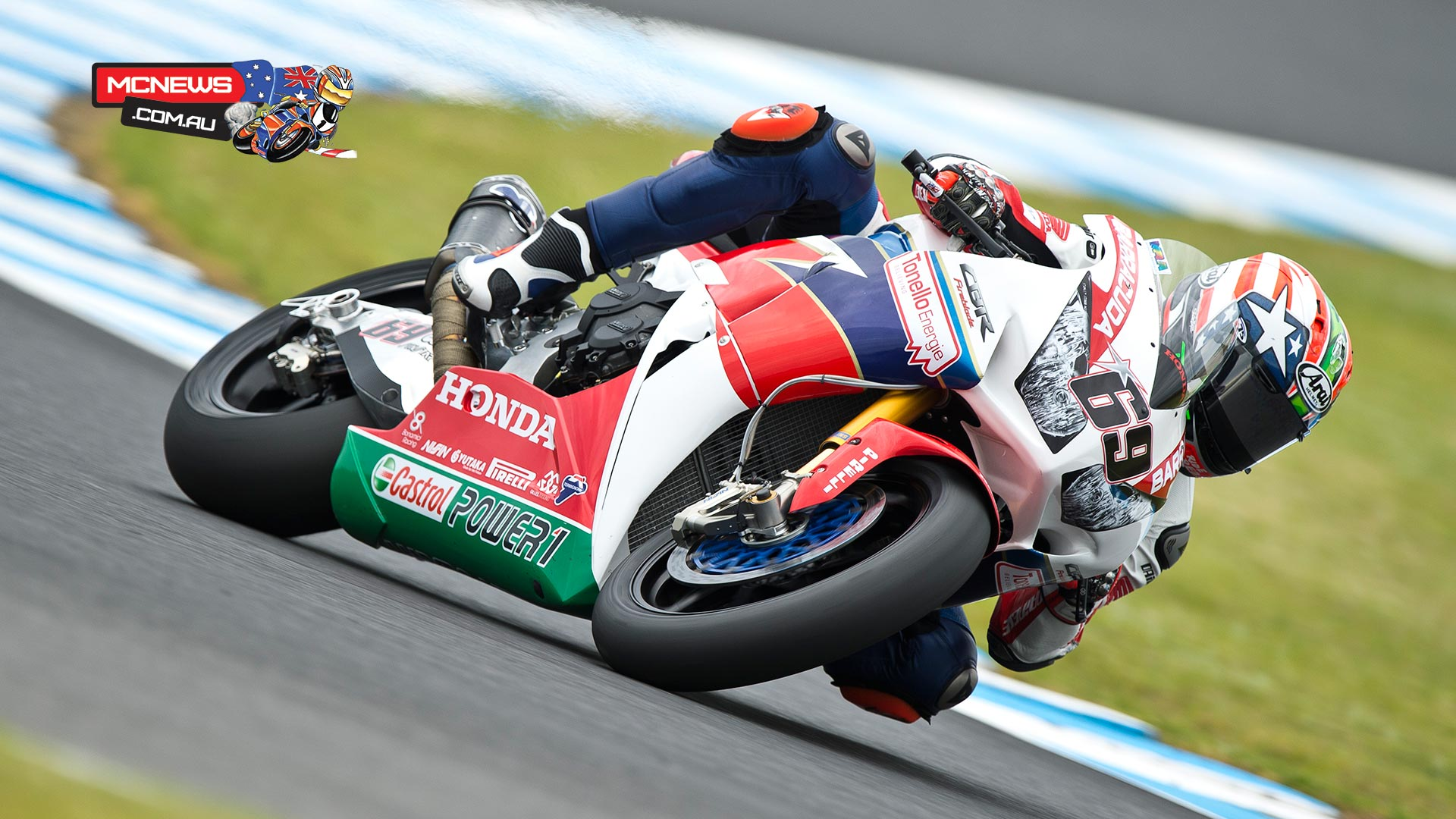 Nicky Hayden - Image by Graeme Brown