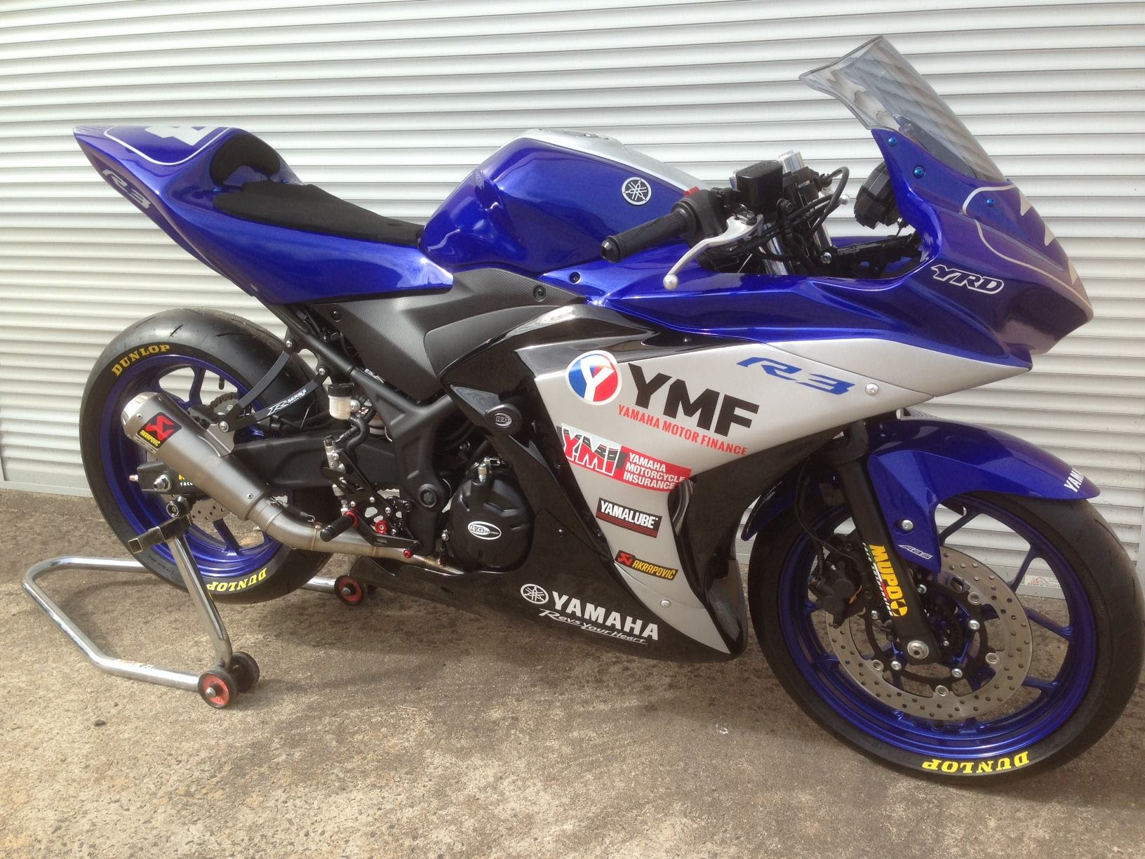 Yamaha YZF-R3 Cup Bike