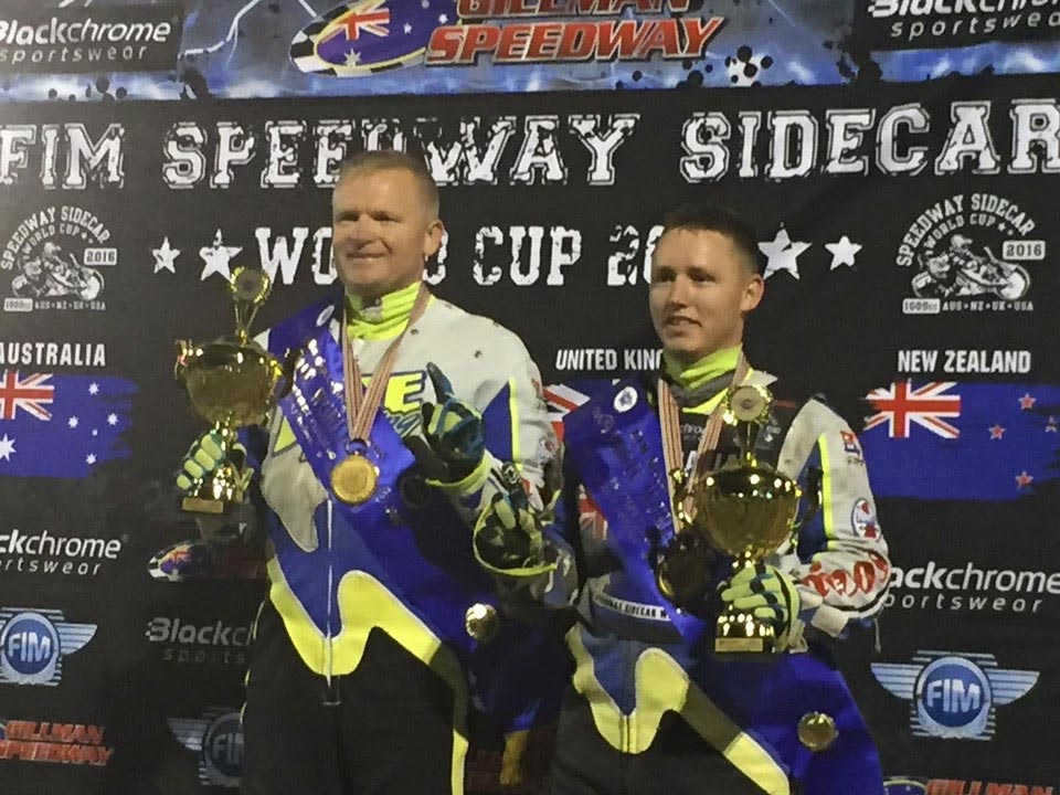 FIM Speedway Sidecar World Cup - Darrin Treloar and Blake Cox