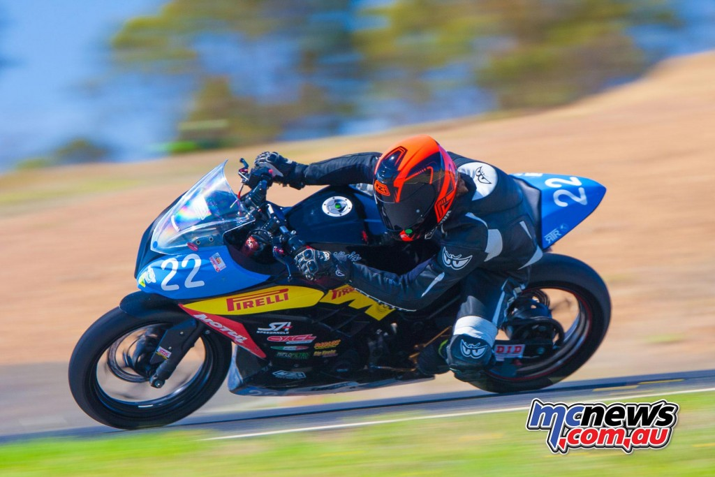 Zachary Johnson - 2016 Victorian Interclub Round One Broadford - Image by Cameron White