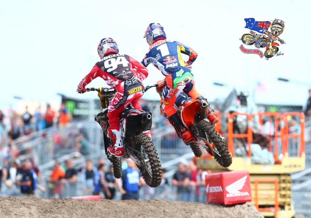 Ken Roczen and Ryan Dungey