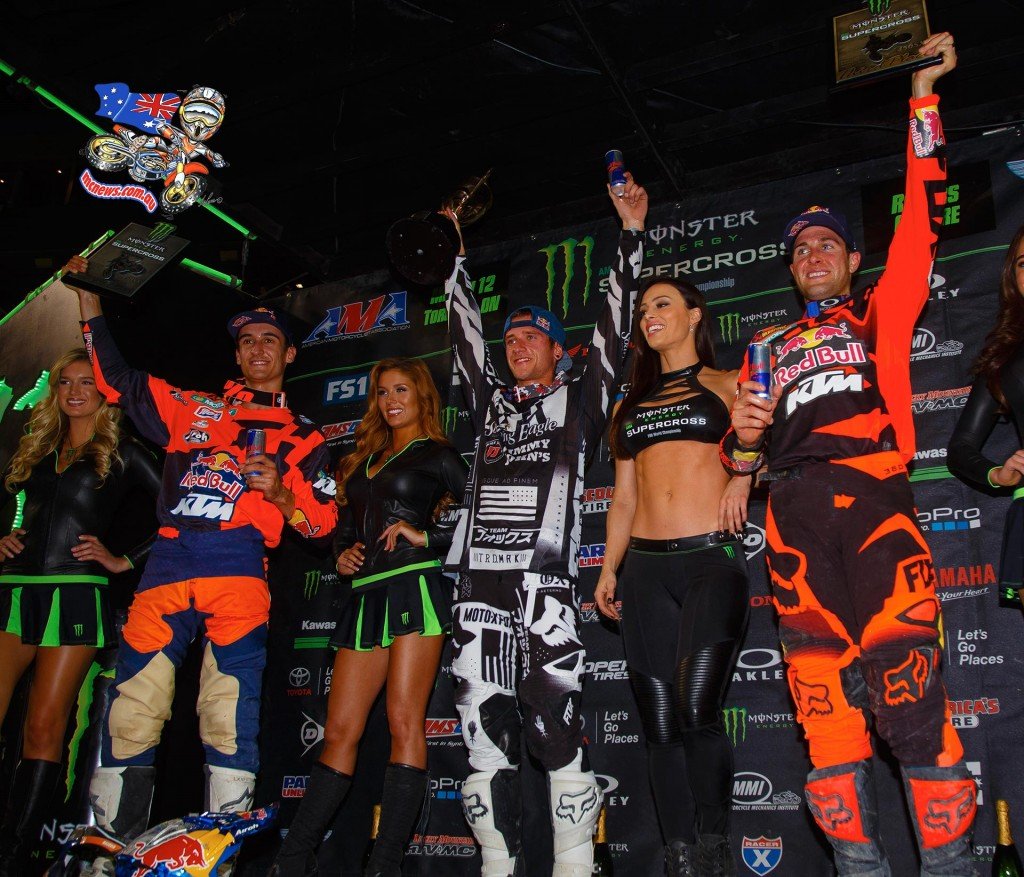 AMA Supercross 2016 - Round Ten - Toronto - 450 Podium
