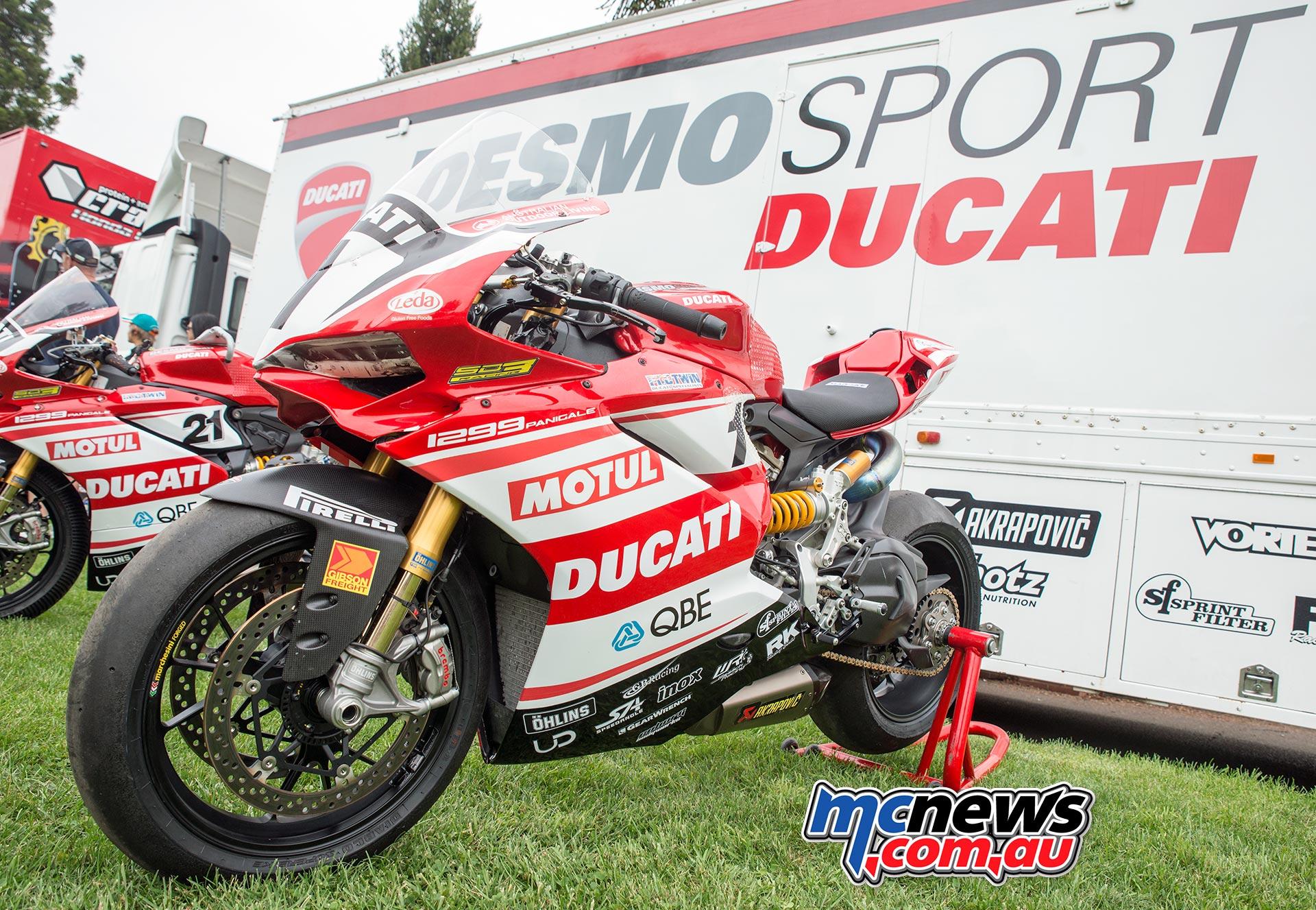Desmosport Ducati - ASBK 2016 - Wakefield Park