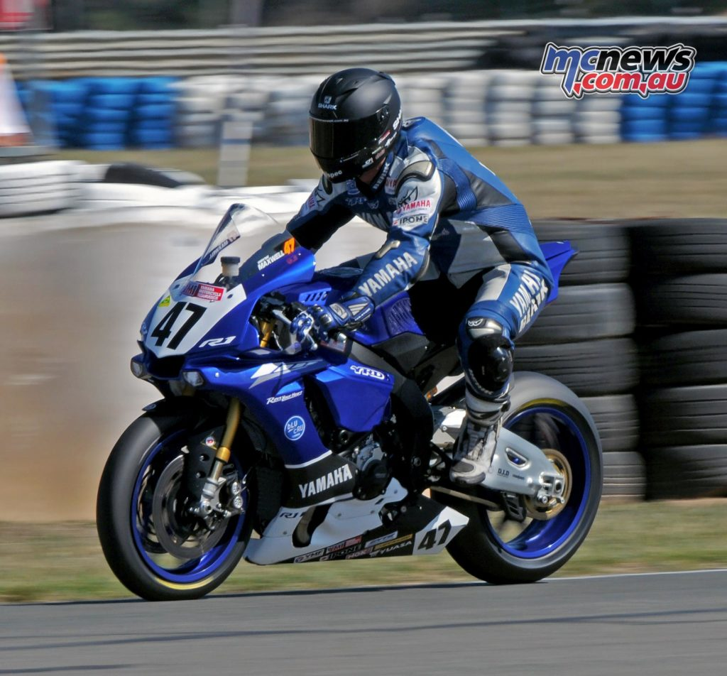 Wayne Maxwell - ASBK 2016 - Round Two - Wakefield Park - Image by Keith Muir