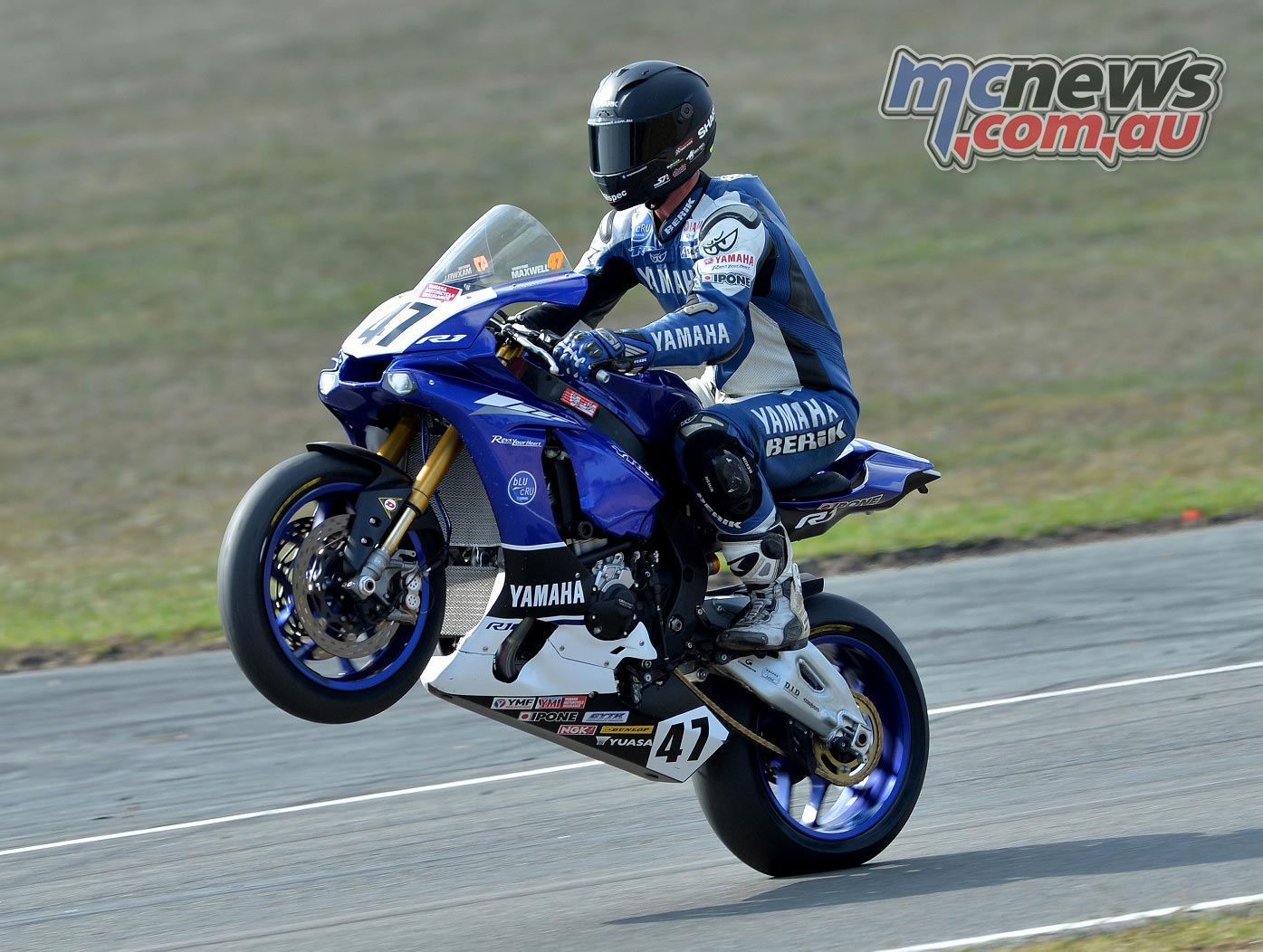 Wayne Maxwell - ASBK 2016 - Round Two - Wakefield Park - Image by YRT