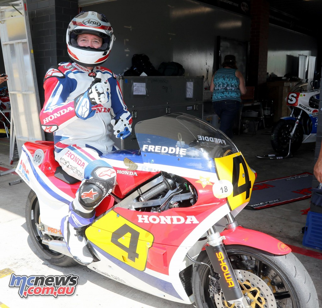 Freddie Spencer - Barry Sheene Festival of Speed 2016 - Image by Mark Bracks