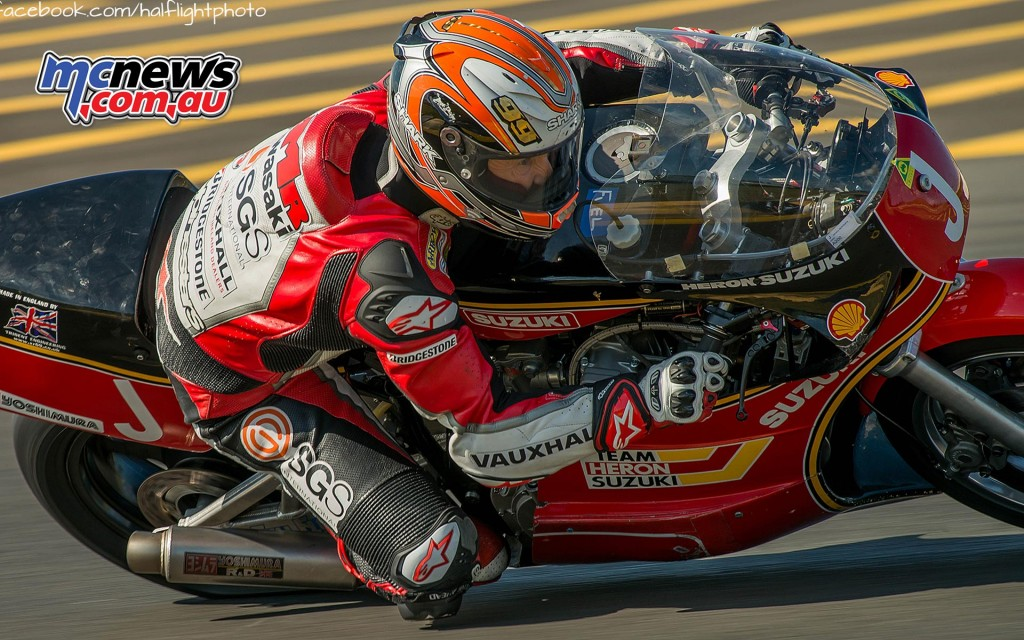 Jeremy McWilliams - 2016 Barry Sheene Festival of Speed - Image by Nick Edards