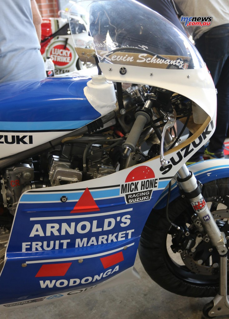 One of the Suzuki's Kevin Schwantz will ride at BSFOS 2016 - Barry Sheene Festival of Speed 2016 - Image by Mark Bracks