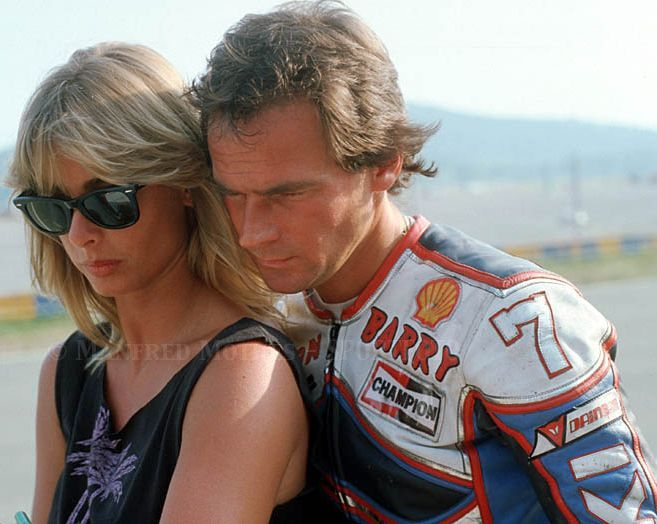 Barry and Stephanie Sheene