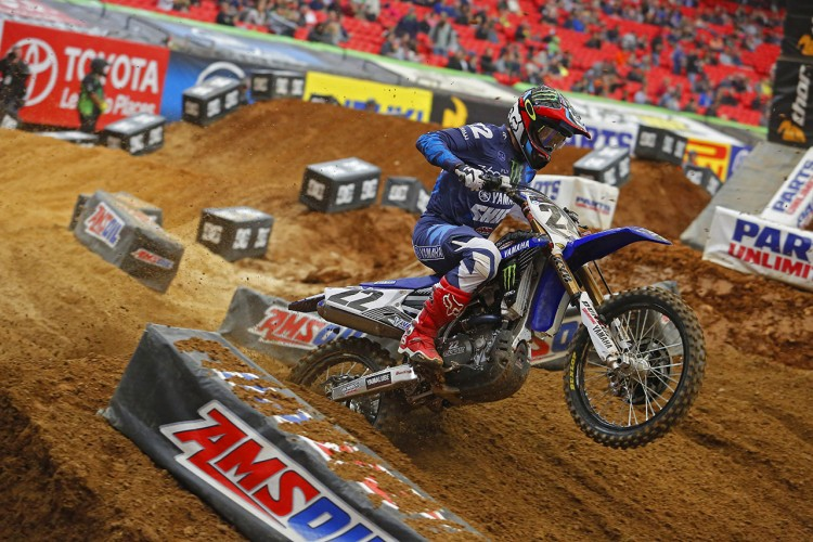 Chad Reed finally got a start and put it to good use for third