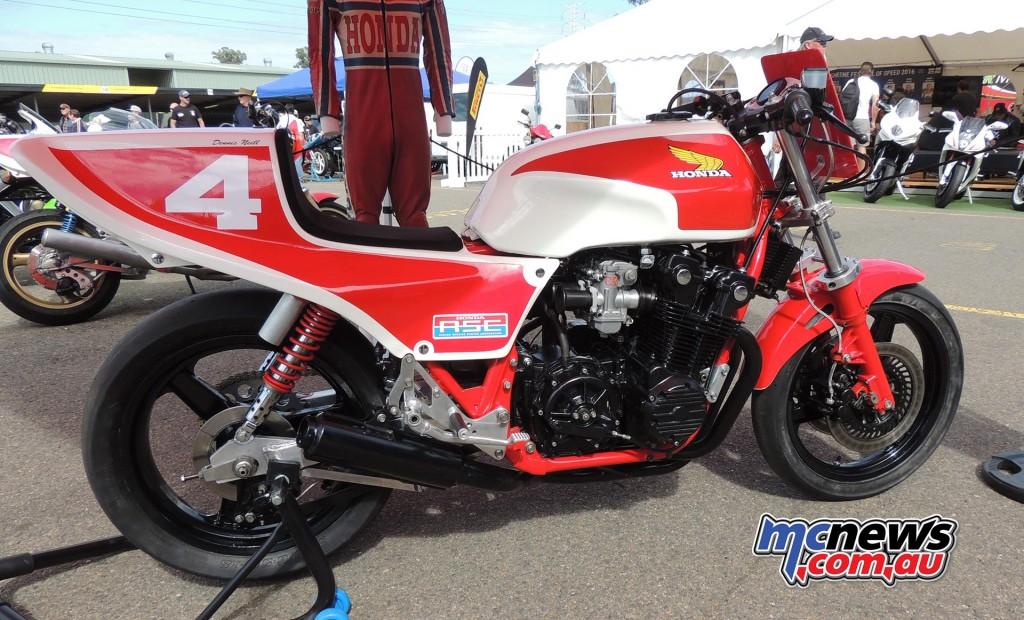 Dennis Neill - Superbike - 2016 Barry Sheene Festival of Speed - Image by Phil Hall