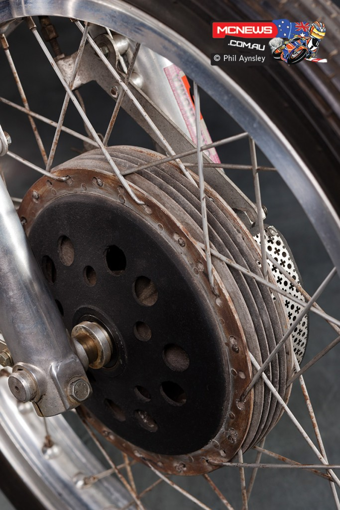 1966 Ducati 250 SC Sport Corsa - Oldani Brakes. Image by Phil Aynsley