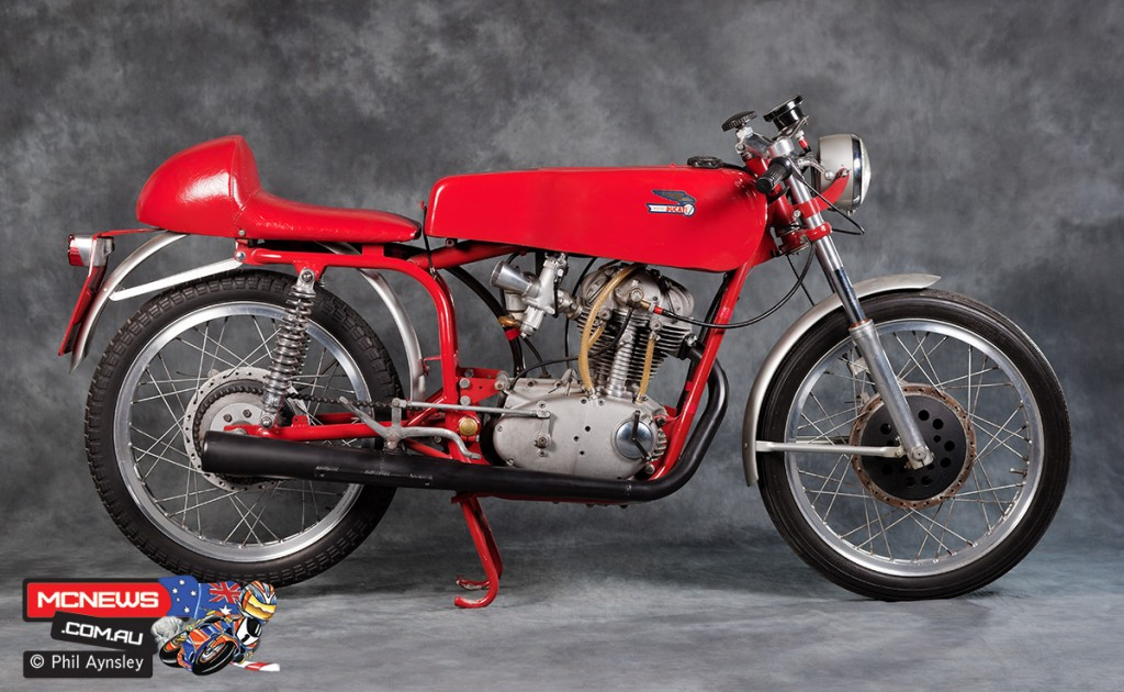 1966 Ducati 250 SC Sport Corsa. Image by Phil Aynsley