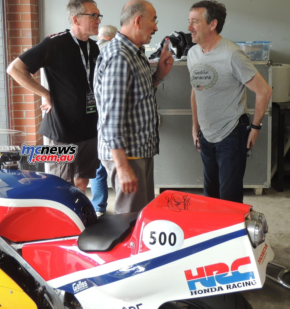 Freddie Spencer - Paul Galles - 2016 Barry Sheene Festival of Speed - Image by Phil Hall