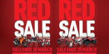Honda Ride Red Sale