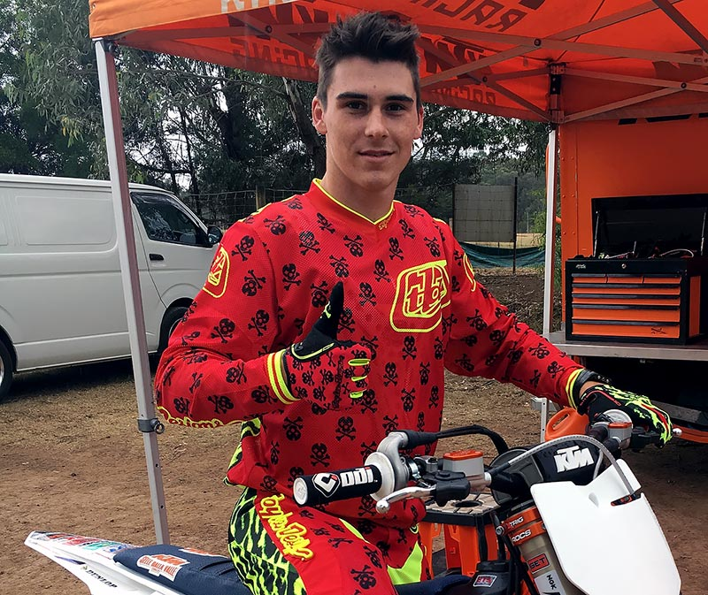 KTM Motocross Racing Team - 2016 MX Nationals - Jesse Dobson
