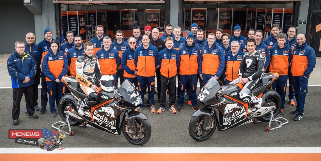 KTM RC16 MotoGP Test at Valencia