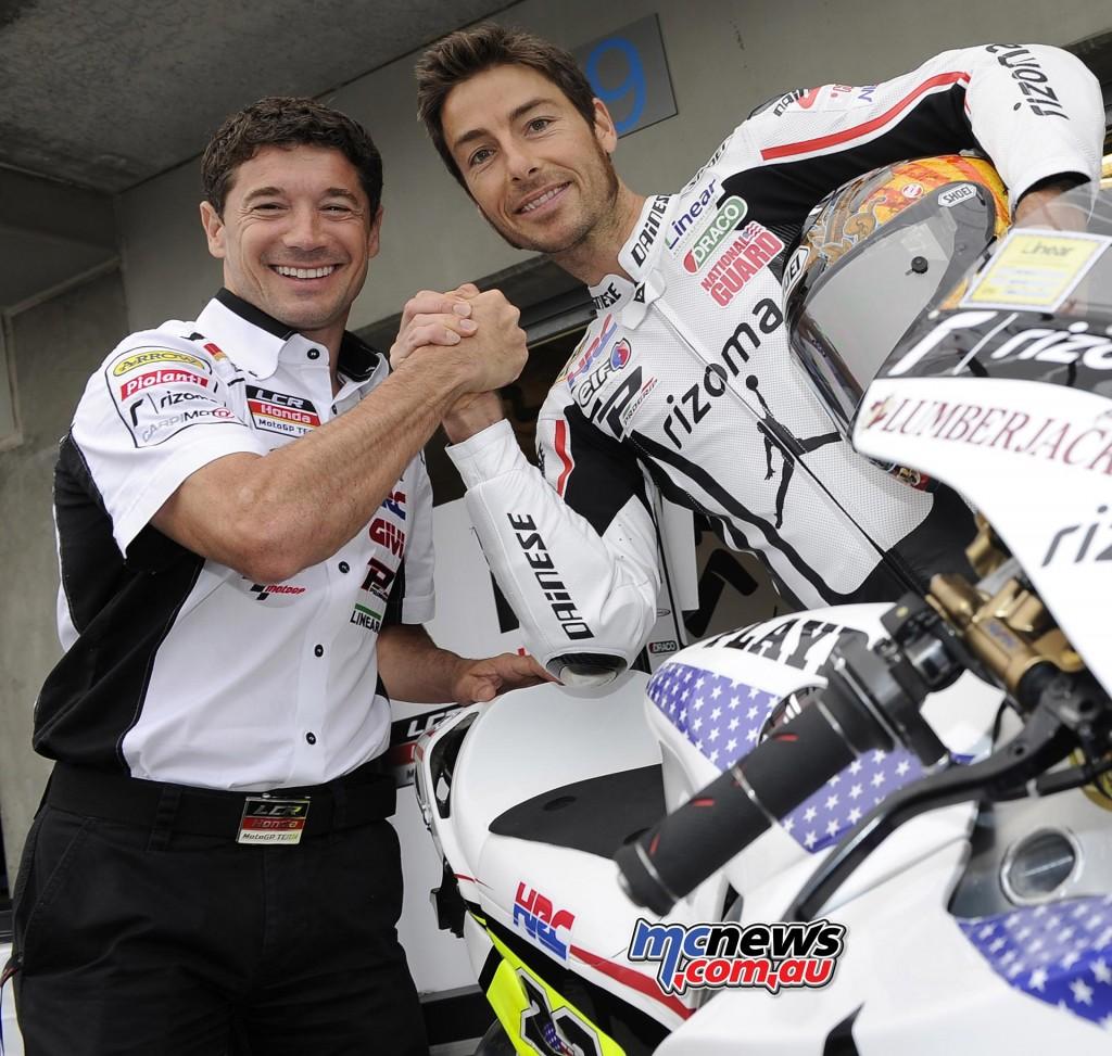 Lucio Cecchinello and Ben Bostrom