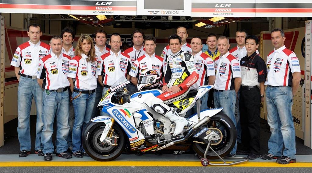 LCR MotoGP 2008 - Randy De Puniet