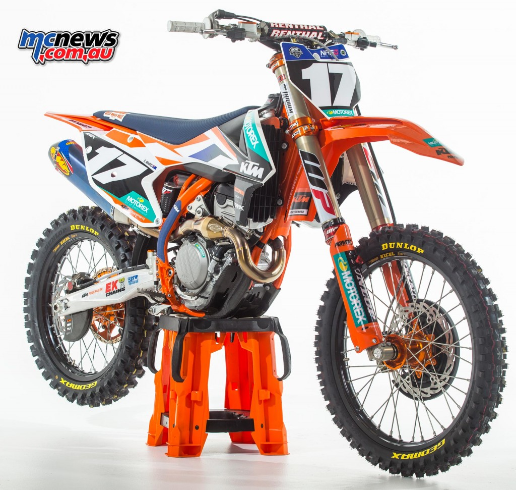 KTM Motocross Racing Team - 2016 MX Nationals - Caleb Ward - KTM 250SX-F