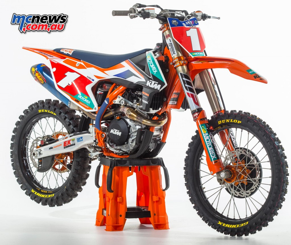 KTM Motocross Racing Team - 2016 MX Nationals - Kirk Gibbs - KTM 450 SX-F