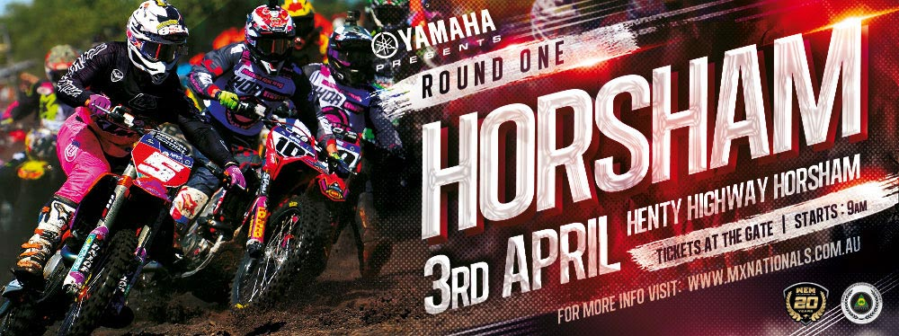 MX Nationals 2016 season opener at Horsham