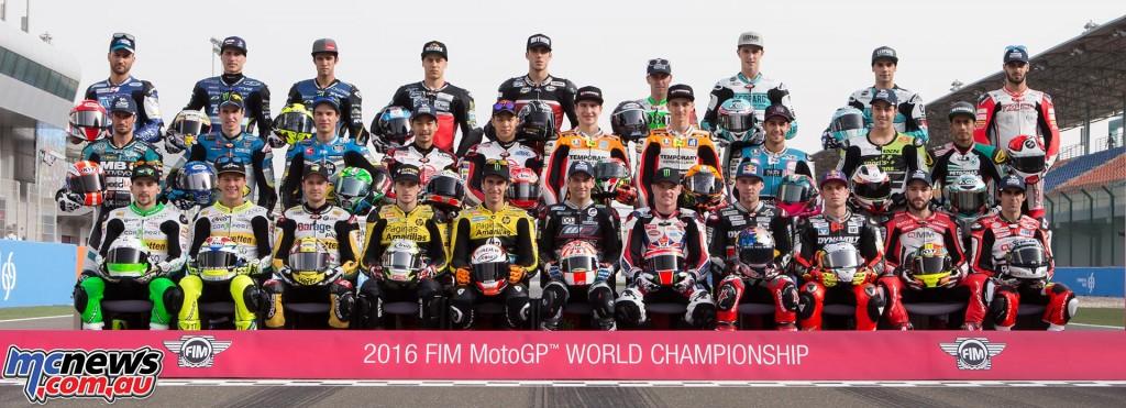 Moto2 2016 Riders