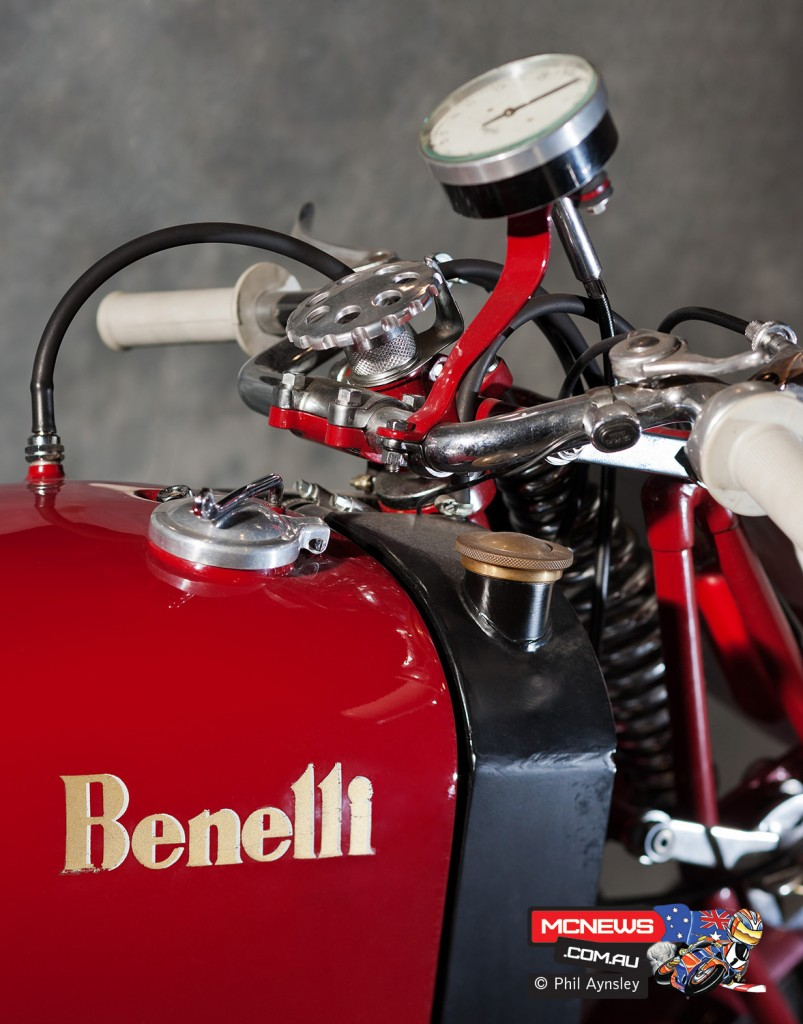 Benelli 250/4 supercharged. Image by Phil Aynsley