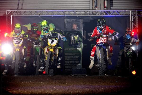Ramette may or may not have won the UK Arenacross Championship