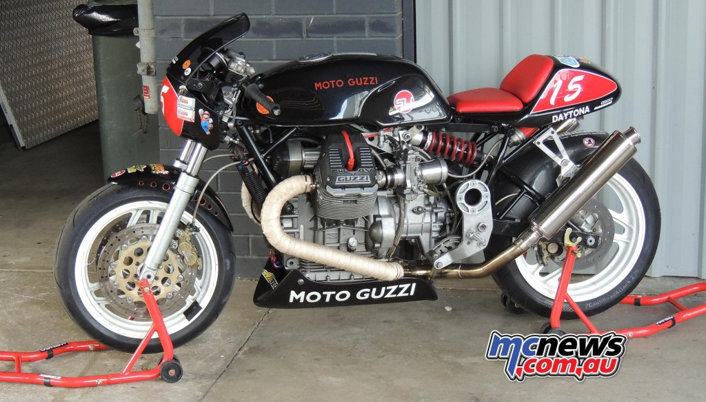 Moto Guzzi - 2016 Barry Sheene Festival of Speed - Image by Phil Hall