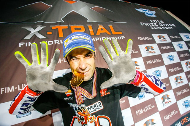 Toni Bou racked up another title