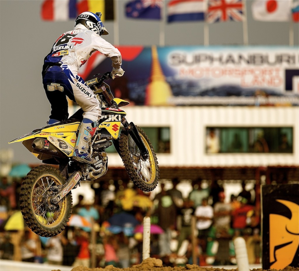 Townley is making news in MXGP on and off the track