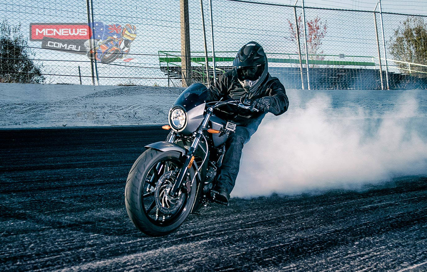 Guinness World Record with 3.58km burnout on the new Victory Octane