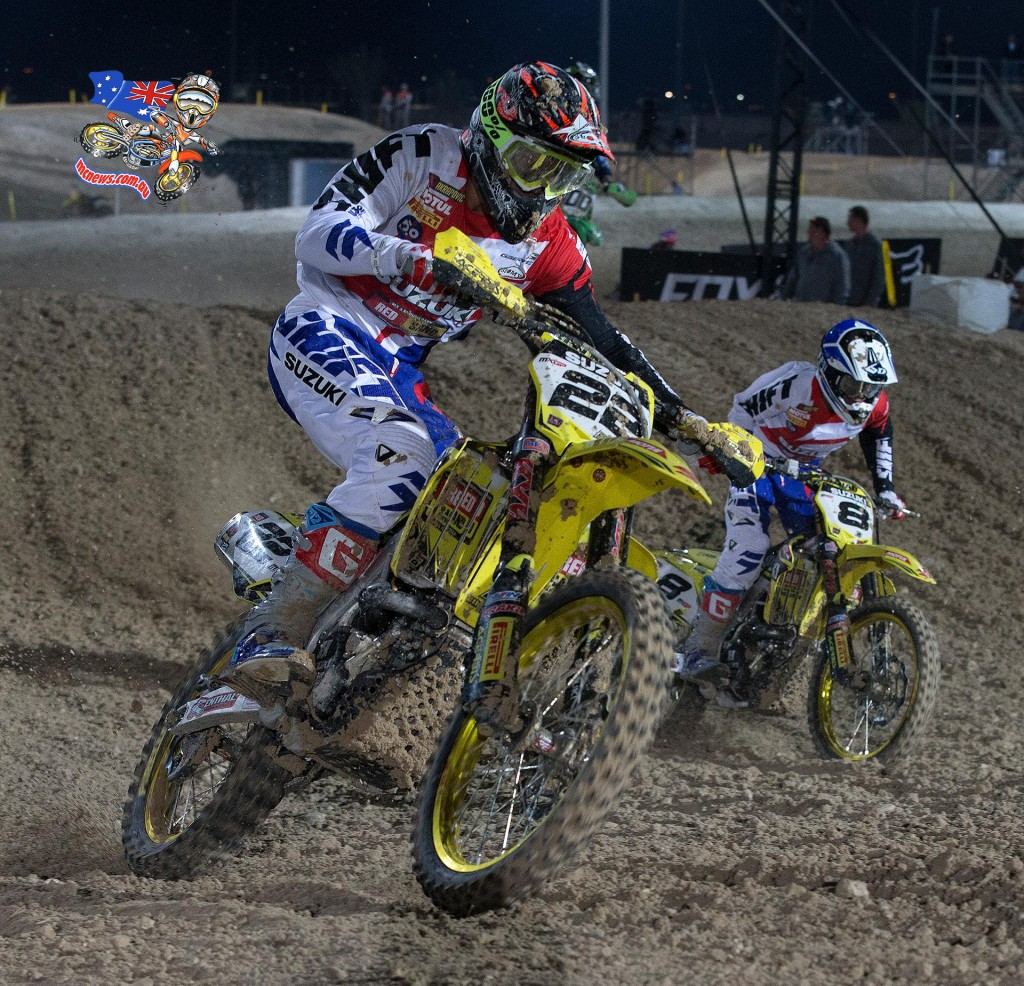 Kevin Strijbos (Front) and Ben Townley (Rear)