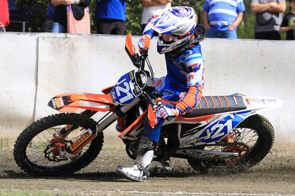 Jarred Brook won the 2016 Casey Stoner Cup