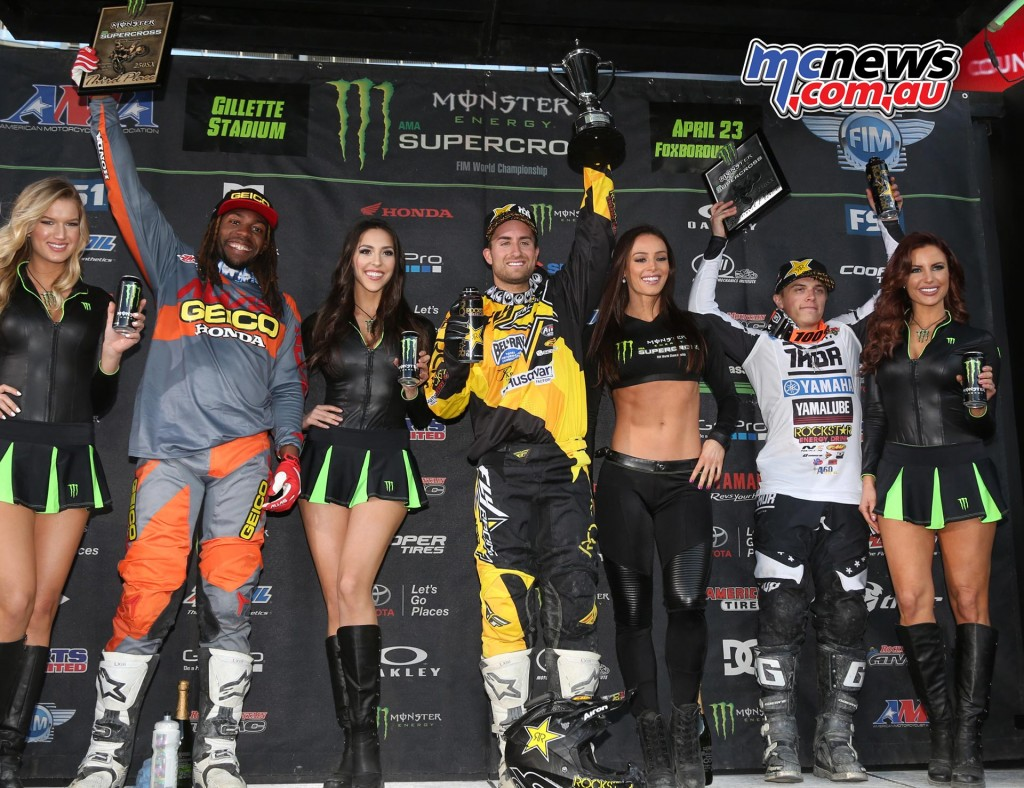 AMA Supercross 2016 - Foxborough - Podium 250