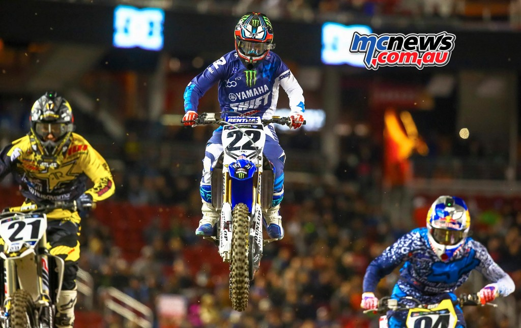 AMA Supercross 2016 - Santa Clara - Chad Reed