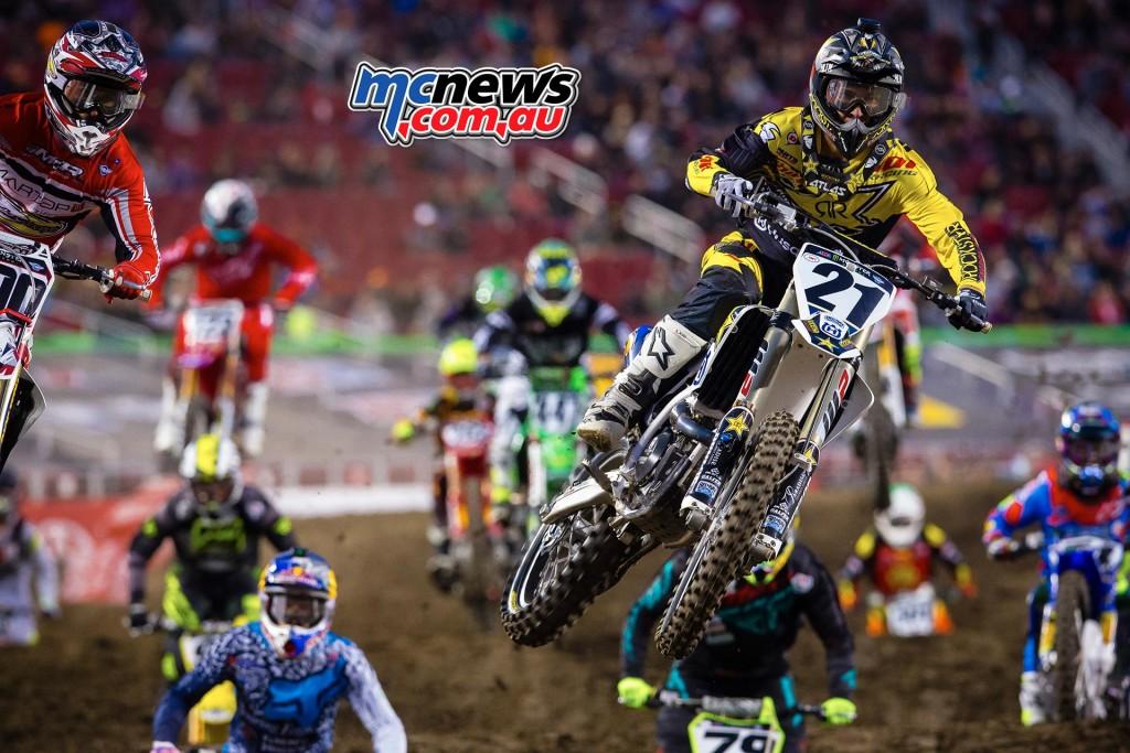 AMA Supercross 2016 - Santa Clara - Jason Anderson