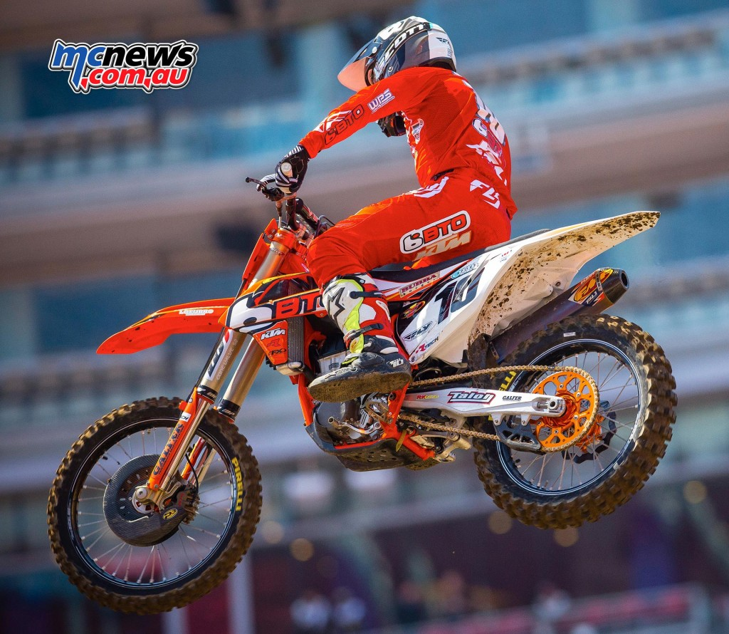 AMA Supercross 2016 - Santa Clara - Justin Brayton